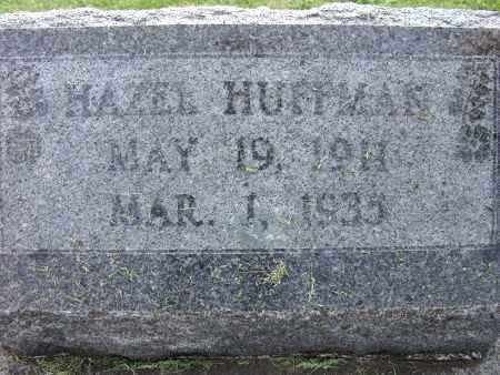 HUFFMAN, HAZEL - Warren County, Iowa | HAZEL HUFFMAN