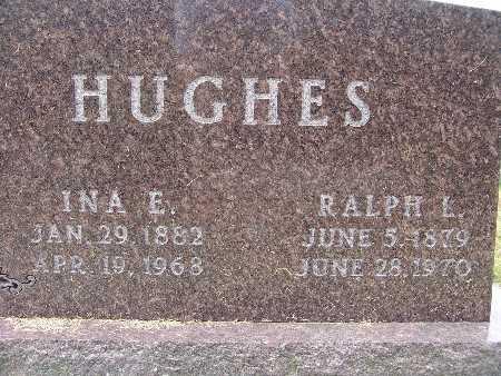 HUGHES, INA E. - Warren County, Iowa   INA E. HUGHES