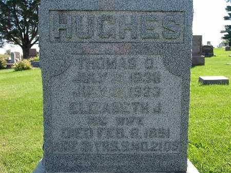 HUGHES, THOMAS O - Warren County, Iowa   THOMAS O HUGHES