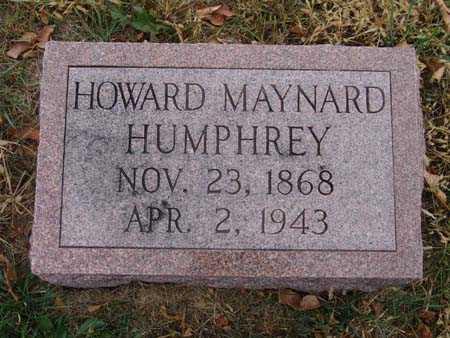 HUMPHREY, HOWARD MAYNARD - Warren County, Iowa | HOWARD MAYNARD HUMPHREY