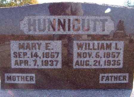 HUNNICUTT, MARY E. - Warren County, Iowa   MARY E. HUNNICUTT