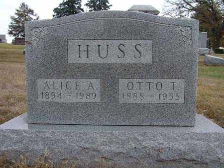 HUSS, ALICE A. - Warren County, Iowa | ALICE A. HUSS
