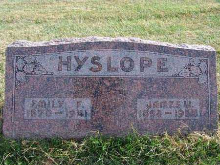 HYSLOPE, EMILY F. - Warren County, Iowa | EMILY F. HYSLOPE