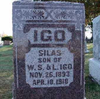 IGO, SILAS - Warren County, Iowa | SILAS IGO