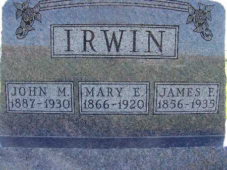 IRWIN, JAMES F. - Warren County, Iowa | JAMES F. IRWIN