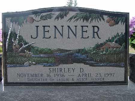 JENNER, SHIRLEY D. - Warren County, Iowa   SHIRLEY D. JENNER