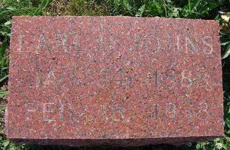 JOHNS, EARL H. - Warren County, Iowa | EARL H. JOHNS