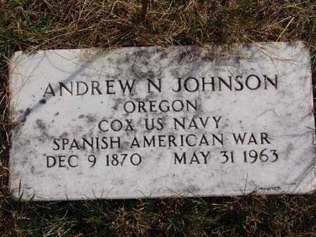 JOHNSON, ANDREW N. - Warren County, Iowa | ANDREW N. JOHNSON