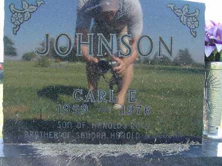 JOHNSON, CARL E. - Warren County, Iowa   CARL E. JOHNSON