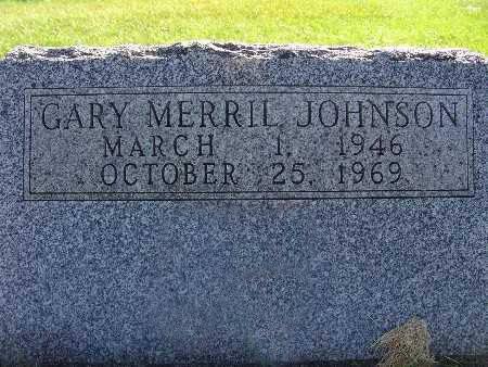 JOHNSON, GARY MERRIL - Warren County, Iowa | GARY MERRIL JOHNSON