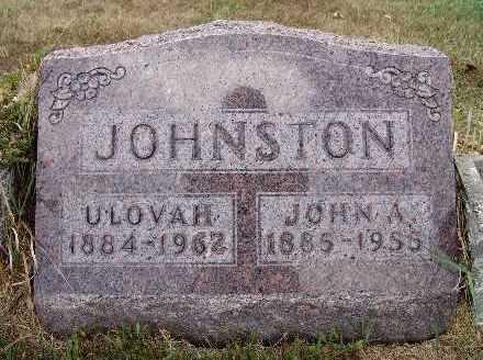 JOHNSON, JOHN A. - Warren County, Iowa | JOHN A. JOHNSON