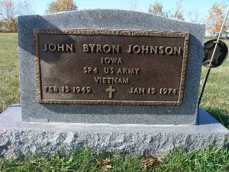JOHNSON, JOHN BYRON - Warren County, Iowa | JOHN BYRON JOHNSON