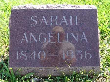 JOHNSON, SARAH ANGELINA - Warren County, Iowa   SARAH ANGELINA JOHNSON