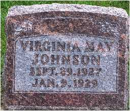 JOHNSON, VIRGINIA MAY - Warren County, Iowa | VIRGINIA MAY JOHNSON