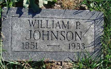 JOHNSON, WILLIAM P. - Warren County, Iowa | WILLIAM P. JOHNSON