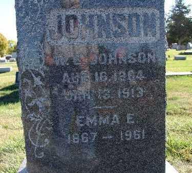 JOHNSON, EMMA E. - Warren County, Iowa | EMMA E. JOHNSON