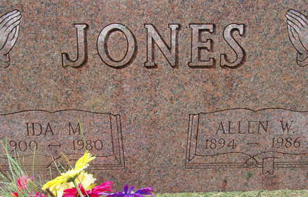 JONES, ALLEN W - Warren County, Iowa | ALLEN W JONES