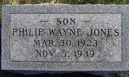 JONES, PHILIP WAYNE - Warren County, Iowa | PHILIP WAYNE JONES