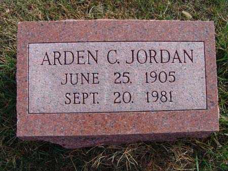 JORDAN, ARDEN C. - Warren County, Iowa | ARDEN C. JORDAN