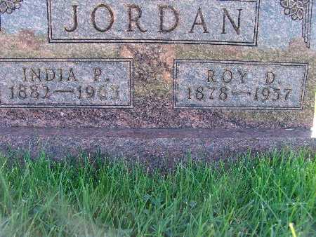 JORDAN, ROY D. - Warren County, Iowa | ROY D. JORDAN