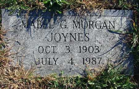 MORGAN JOYNES, MABEL G. - Warren County, Iowa | MABEL G. MORGAN JOYNES