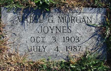 JOYNES, MABEL G. - Warren County, Iowa | MABEL G. JOYNES