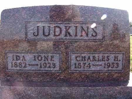 SUTTON JUDKINS, IDA IONE - Warren County, Iowa | IDA IONE SUTTON JUDKINS