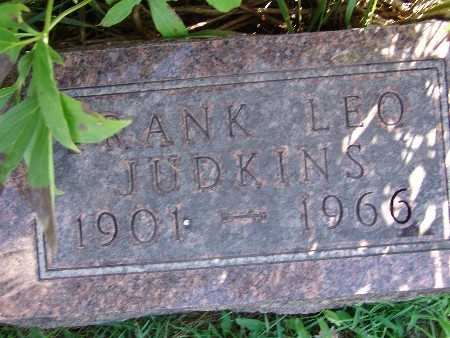 JUDKINS, FRANK LEO - Warren County, Iowa | FRANK LEO JUDKINS