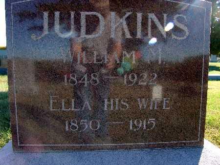 JUDKINS, ELLA - Warren County, Iowa   ELLA JUDKINS