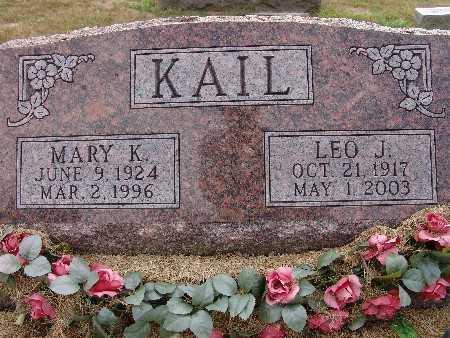 KAIL, MARY K. - Warren County, Iowa | MARY K. KAIL