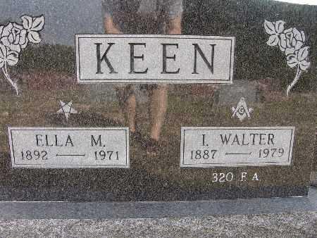 KEEN, I. WALTER - Warren County, Iowa | I. WALTER KEEN