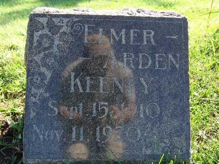 KEENEY, ELMER ARDEN - Warren County, Iowa | ELMER ARDEN KEENEY