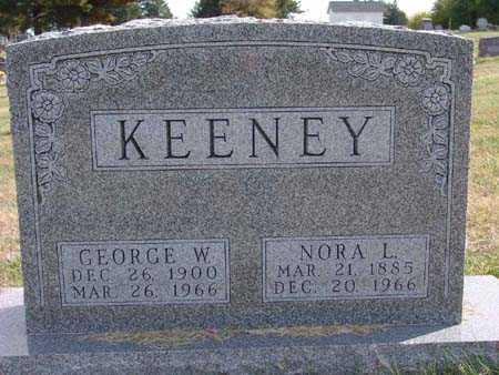 KEENEY, NORA L. - Warren County, Iowa | NORA L. KEENEY