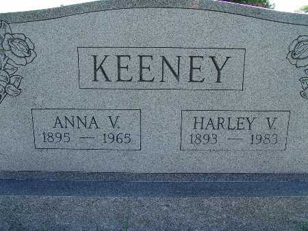 KEENEY, HARLEY V - Warren County, Iowa | HARLEY V KEENEY