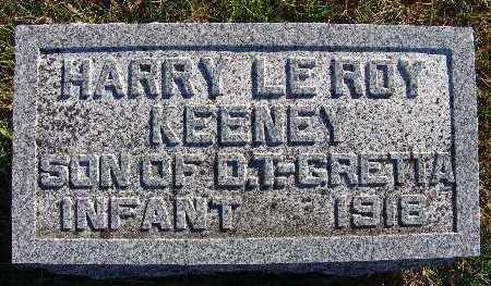 KEENEY, HARRY LEROY - Warren County, Iowa | HARRY LEROY KEENEY