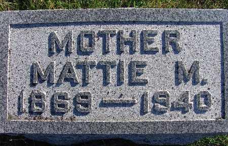 KEENEY, MATTIE M. - Warren County, Iowa | MATTIE M. KEENEY