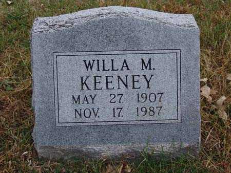 KEENEY, WILLA M. - Warren County, Iowa | WILLA M. KEENEY