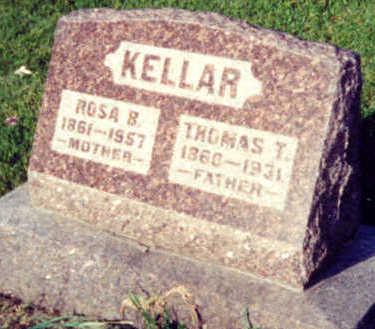 KELLAR, ROSA BELLE - Warren County, Iowa | ROSA BELLE KELLAR