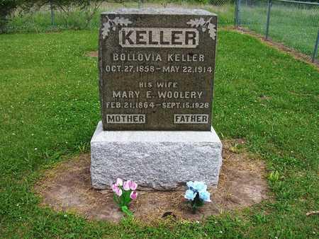 WOOLERY KELLER, BOLLOVIA I. AND MARY E. - Warren County, Iowa | BOLLOVIA I. AND MARY E. WOOLERY KELLER