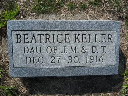 KELLER, BEATRICE - Warren County, Iowa   BEATRICE KELLER