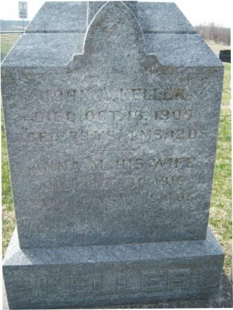 KELLER, JOHN A. - Warren County, Iowa   JOHN A. KELLER