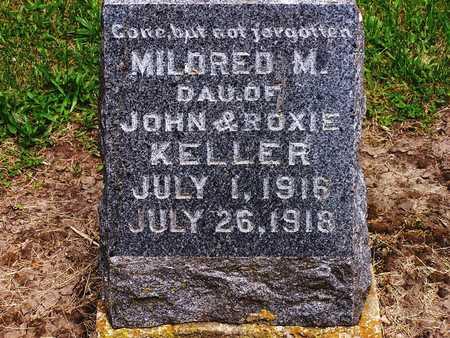 KELLER, MILDRED M. - Warren County, Iowa   MILDRED M. KELLER