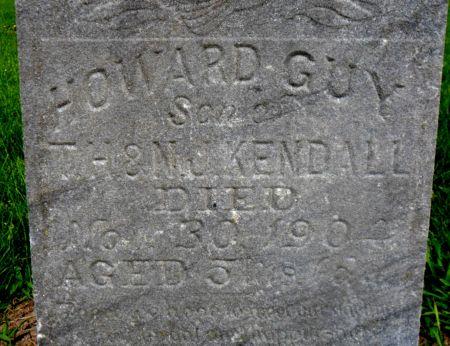 KENDALL, HOWARD GUY - Warren County, Iowa | HOWARD GUY KENDALL