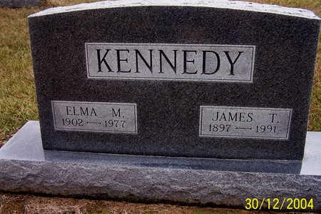 KENNEDY, JAMES T. AND ELMA M. - Warren County, Iowa   JAMES T. AND ELMA M. KENNEDY