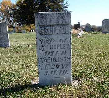 KEPLEY, CELIA C. - Warren County, Iowa   CELIA C. KEPLEY
