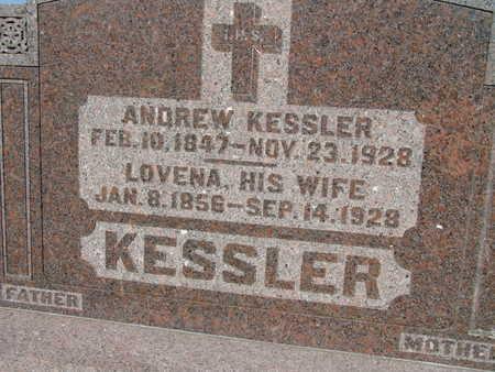 KESSLER, LOVENA - Warren County, Iowa   LOVENA KESSLER