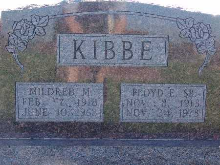 KIBBE, FLOYD E. SR. - Warren County, Iowa | FLOYD E. SR. KIBBE