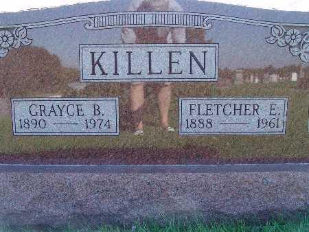KILLEN, GRAYCE B - Warren County, Iowa | GRAYCE B KILLEN