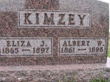 KIMZEY, ALBERT W. - Warren County, Iowa | ALBERT W. KIMZEY