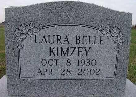 KIMZEY, LAURA BELLE - Warren County, Iowa   LAURA BELLE KIMZEY